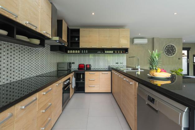 Install a new kitchen